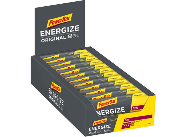 PowerBar Energize Original Riegel Box 25 x 55g Beere